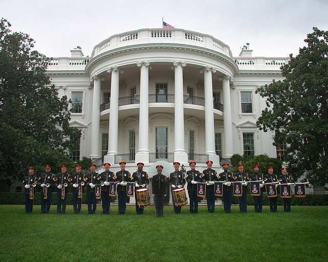 US Army Herald Trumpets