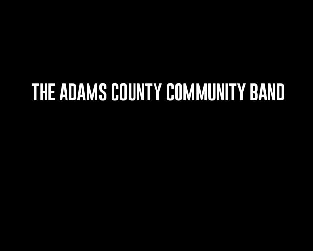 Adams County Community Band